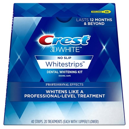 Полоски Crest 3D White Whitestrips Professional Effects