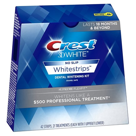 (Половина курса) Crest 3D Whitestrips Supreme Flexfit