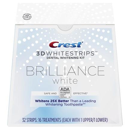 Полоски Crest 3D White Whitestrips Brilliance White