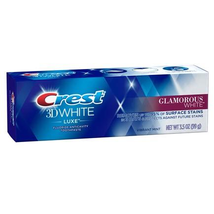 Зубная паста Crest 3D White Luxe Glamorous White