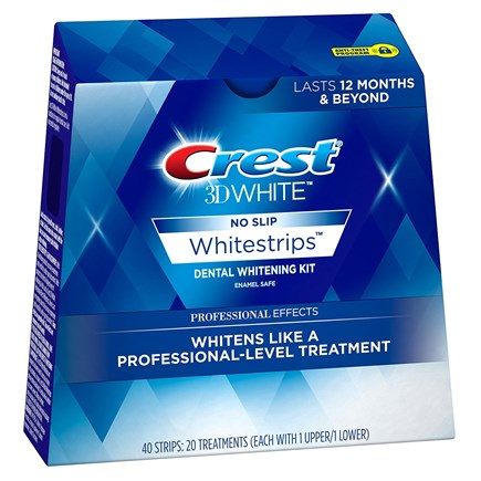 (Половина курса) Crest 3D Whitestrips Professional Effects