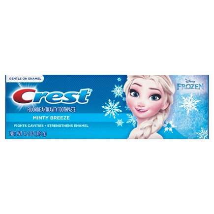 CREST PRO-HEALTH JR. DISNEY FROZEN MINTY BREEZE TOOTHPASTE