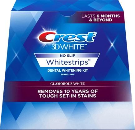 Полоски Crest 3D White Whitestrips Glamorous White