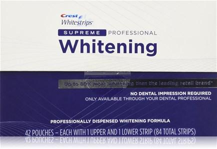 Полоски Crest 3D White Whitestrips Supreme Professional